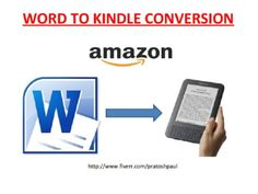pratoshpaul: do word to kindle format conversion for $5, on fiverr.com