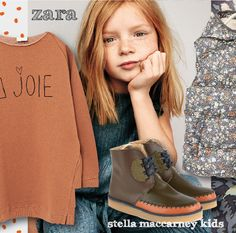 outfitsforcutekids.com New Post Stella MaCcartney kids+Zara