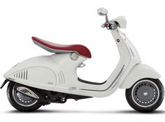 New Vespa 946 By Vespa - The Vespa 946 is a scooter announced by Piaggio, to be sold under their Vespa brand starting in July 2013. Piaggio presented the retro-futurist Vespa Quarantasei concept, based on the 1945 Vespa MP6 prototype, at the 2011 EICMA motorcycle show. The final production version, renamed the Vespa 946, appeared the following year, at EICMA 2012...