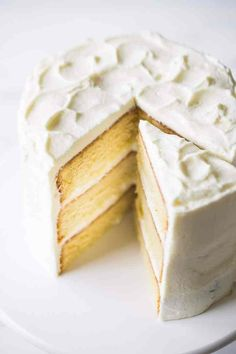 I will never bake another vanilla cake recipe again- this one is the best ever! So moist and buttery, and so easy to make, in just one bowl! #vanillacake #vanilla #cake #recipe #moist #easy #batter #fromscratch #fluffy #homemade #best #birthday #simple #ideas #decoration #classic #buttermilk #perfect #basic #video #sourcream #light #ultimate #homemade #onebowl #quick #layer #bakery #sponge #soft