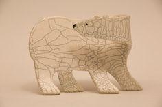Polar Bear Sculpture.. by shoefactory on Etsy, $32.00