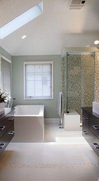 Contemporary Spa Master Bath
