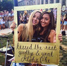 Alpha Chi Omega at Pennsylvania State University #AlphaChiOmega #AChiO #BidDay…