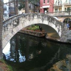Selena's Bridge on the River Walk in San Antonio, TX, named after Selena Quintanilla-Pérez
