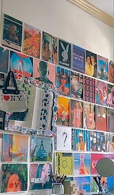 Indie Room Decor, Indie Bedroom, Cute Room Decor, Aesthetic Room Decor, Wall Decor, Room Ideas Bedroom, Bedroom Decor, Bedroom Inspo, Room Ideias