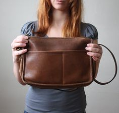 coach bag  vintage 1970's leather coach purse by Thrush on Etsy, $59.00