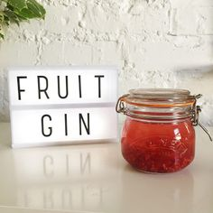 How to Make Fruit Gin