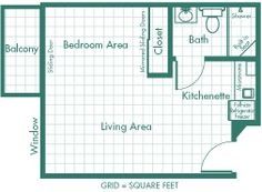 Studio Apartment Floor Plans 400 Sq Ft 400 sq ft apartment floor plan - google search   400 sq ft