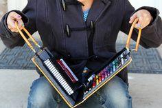 Make your own portable art portfolio with this tutorial.