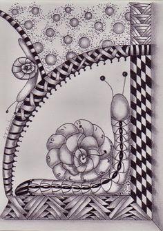 Tineke's Creations: Zentangle