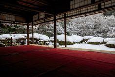 【額縁光景・その16】詩仙堂の雪景色 : 花景色-K.W.C. PhotoBlog