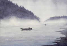 How to Paint a Waterscape with Watercolors - Fine Art-Tips