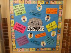 YOU Rock Kindness Bulletin Board Printables - Entirely Elementary...School Counseling