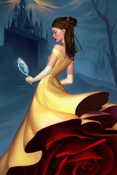 Disney Princess Illustrations - Created by Mioree
