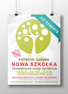 Branding for PIETRZYK GARDEN by Ewelina Stożek, via Behance