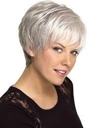 Bildergebnis für kurzhaarfrisuren für graue Haare