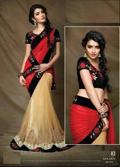 Beautiful georgette & Net Bollywood sarees online