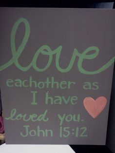 Canvas Painting Bible Verse-