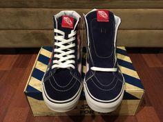 485571ac9f Vans Van Doren Hi Reissue Stars and Stripes Size 11 Red White Blue Authentic