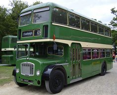 DEL 893c Double Decker Vintage Bus Hire Service in Weston-super-Mare for Wedding or private Hire