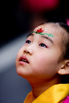 Korean child  #world #cultures