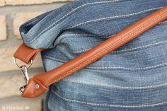 Patrón de costura para el elegante bolso de mano Chobe por EllePuls