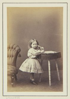 Princess Charlotte, daughter of the Crown Prince and Crown Princess of Prussia, Windsor 1863 [in Portraits of Royal Children Vol.7 1863-1864]   Royal Collection Trust