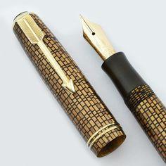Parker Vacumatic Golden Web pen