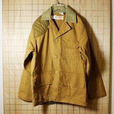 SAFTBAK/USA製70sビンテージ古着/ブラウン/ダックハンティングジャケット/メンズL相当