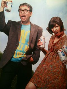 Fred Armisen and Carrie Brownstein...