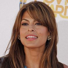 eva mendes hairstyle | Eva Mendes Hairstyles 7 #BangsHairstylesSideswept