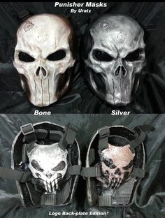 Punisher  2013 LIMITED EDITIONS Mask Pre-Order. $300.00, via Etsy.
