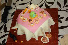 @Ily Logeais : Tea Set Cake #cakedesign