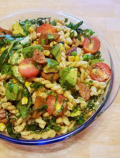 All-Natural Chicken Sausage - Bilinski's: Non-GMO, Certified Organic Chicken Sausage, Bbq Chicken, Sausage Recipes, Pasta Recipes, Sausage Ingredients, Summer Pasta Salad, Lime Vinaigrette, Healthy Food, Healthy Recipes