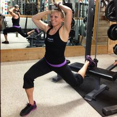 Bulgarian split squats give your legs strength and definition AND work your core all at the same time: http://www.shape.com/...