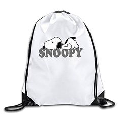 AGOGO Snoopy Drawstring Backpack Bag - Brought to you by Avarsha.com