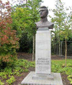 Fitzgerald's Park, Cork. Irish Independence, Cork City, Michael Collins, Cymru, Celtic, Garden Sculpture, Scotland, Wordpress, Favorite Things