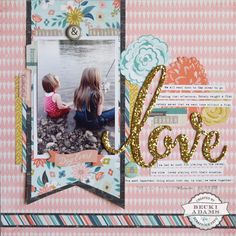 Hey friends, thanks for stopping by today! The last time I shared a layout with you I used the Basic Grey Typeset collection. Well, I had so much fun playing with that collection that I thought I'd share another layout with you using the same line. I thought the colors and elements in this collection …