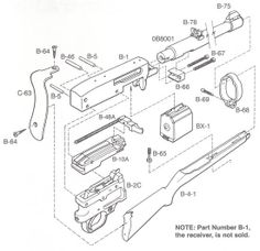 Ruger 10-22 Carbine Exploded View