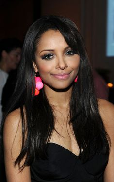 Katerina Graham, is a Swiss-born American actress, model, singer, and dancer. She is best known for her role of Bonnie Bennett on The CW television series The Vampire Diaries.