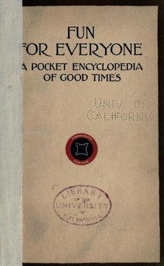 A Pocket Encyclopedia of Good Times.  Oh yah!