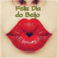 Post  #: Hoje (13/04) é o Dia do Beijo. Então, sejamos feli...