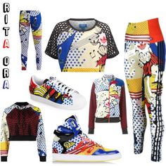 Rita Ora - Adidas by officialfw on Polyvore featuring mode, adidas Originals and adidas