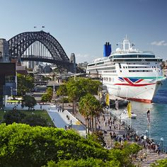 LAST DAY to get up to £300 FREE onboard spend per cabin* with P&O Cruises  (T&Cs apply) #Cruise #CruiseShip #PandOCruises Bateau Yacht, P&o Cruises, Cruise Holidays, World Water, Holiday Deals, Going On Holiday, Cruise Ships, Sydney Harbour Bridge, Yachts
