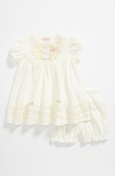 Biscotti Dress & Bloomers (Baby) available at #Nordstrom