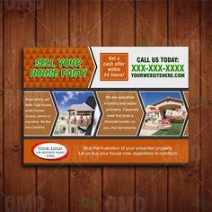 We Buy Houses Postcard