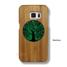 Tree Galaxy S7 Case - Galaxy S7 Solid Total Wood Case - SYTRE0035