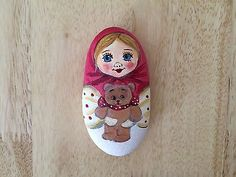 Original-Hand-Painted-Rock-Matryoshka-Russian-nesting-doll