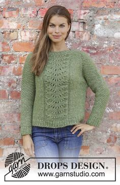 2d264bbce Clover   DROPS 196-4 - Free knitting patterns by DROPS Design