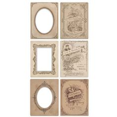 Tim Holtz Idea-ology Mini Cabinet Cards- TH93118
